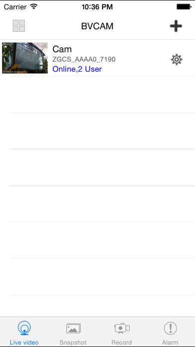 BVCAM by yanxuan CHEN (iOS, United States) - SearchMan App Data