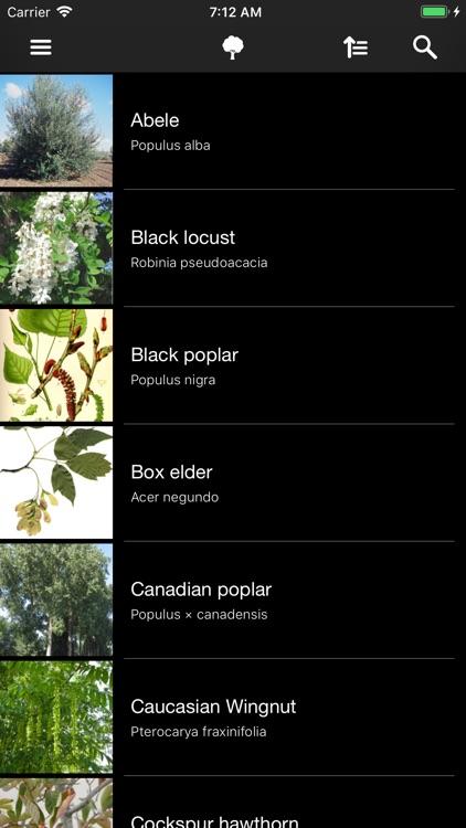 Deciduous trees screenshot-6