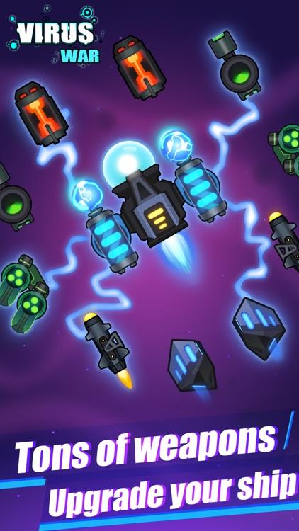 Virus War- Space Shooting Game