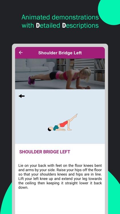 Pilates Yoga Fitness Workouts screenshot-5