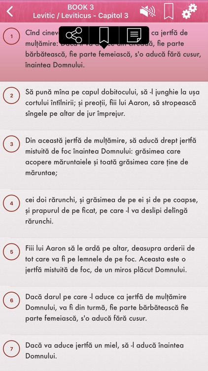 Romanian Bible Audio mp3 Pro screenshot-4