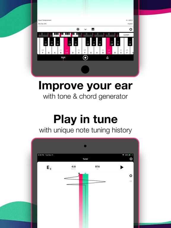 Tunable - Music Practice Tools Screenshots