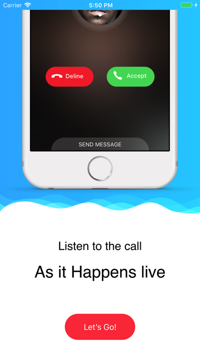 Funny Prank Call - Perfect X screenshot one