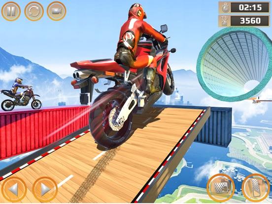 Impossible Bike Stunt Games 3D screenshot #1