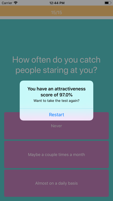 点击获取Attractiveness Test