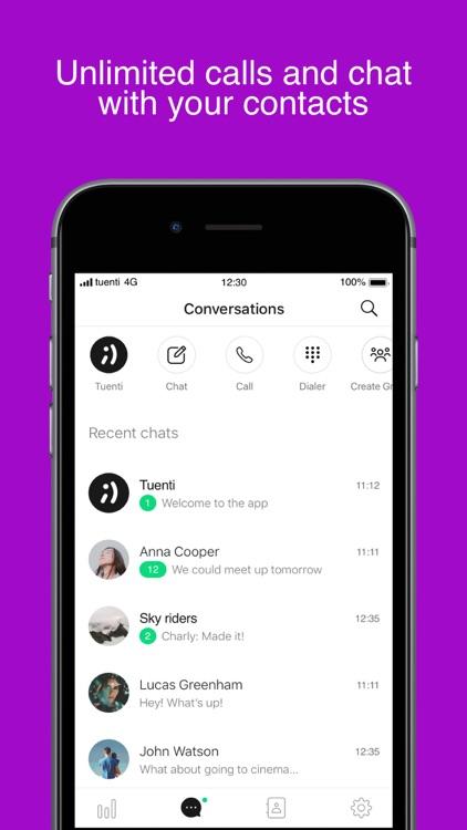 Tuenti: phone with superpowers screenshot-3