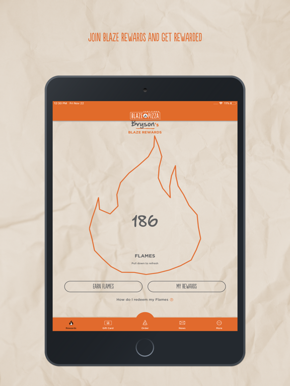 iPad Image of Blaze Pizza