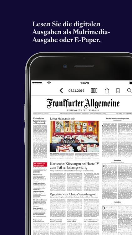 F.A.Z. Kiosk - App zur Zeitung