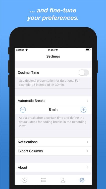 Drudge - Time Tracking screenshot-5