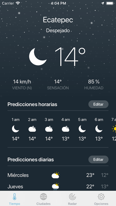 Screenshot for Clima · in Chile App Store