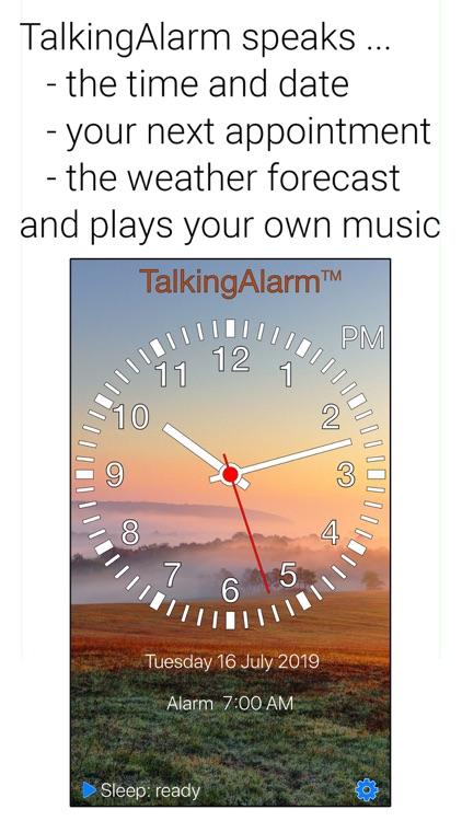 TalkingAlarm screenshot-0