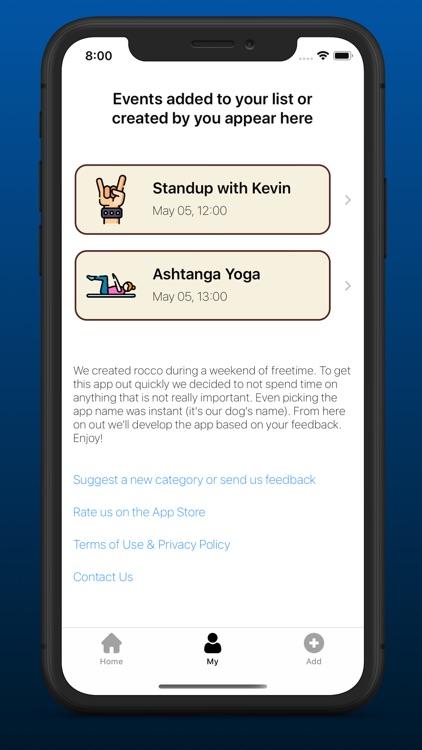 rocco app screenshot-3