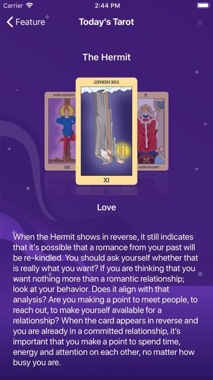 Daily Horoscope &Tarot Reading screenshot-3