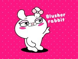 Blusher rabbit adult girls