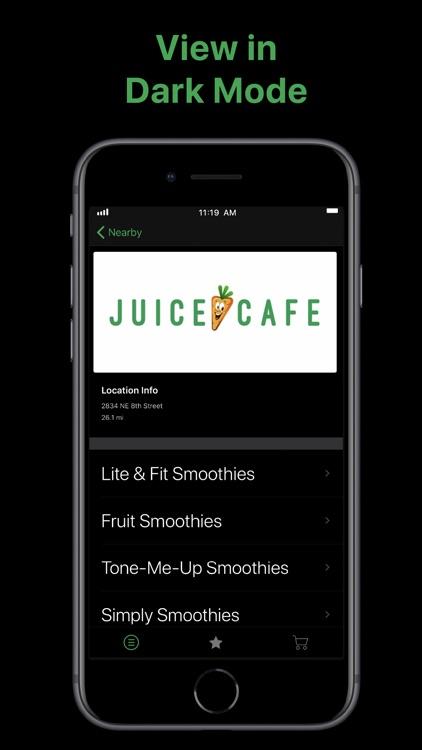Juice Cafe screenshot-5