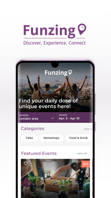 Funzing: Discover Experiences