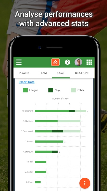 TeamStats - Football Team App screenshot-3