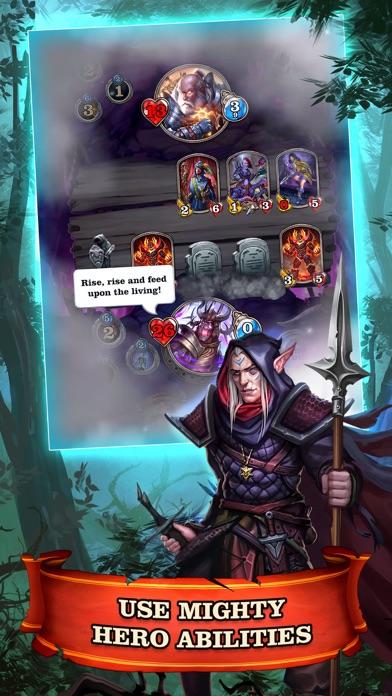 Mighty Heroes CCG screenshot 4