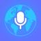 App Icon for Tradutor de voz. App in Portugal IOS App Store