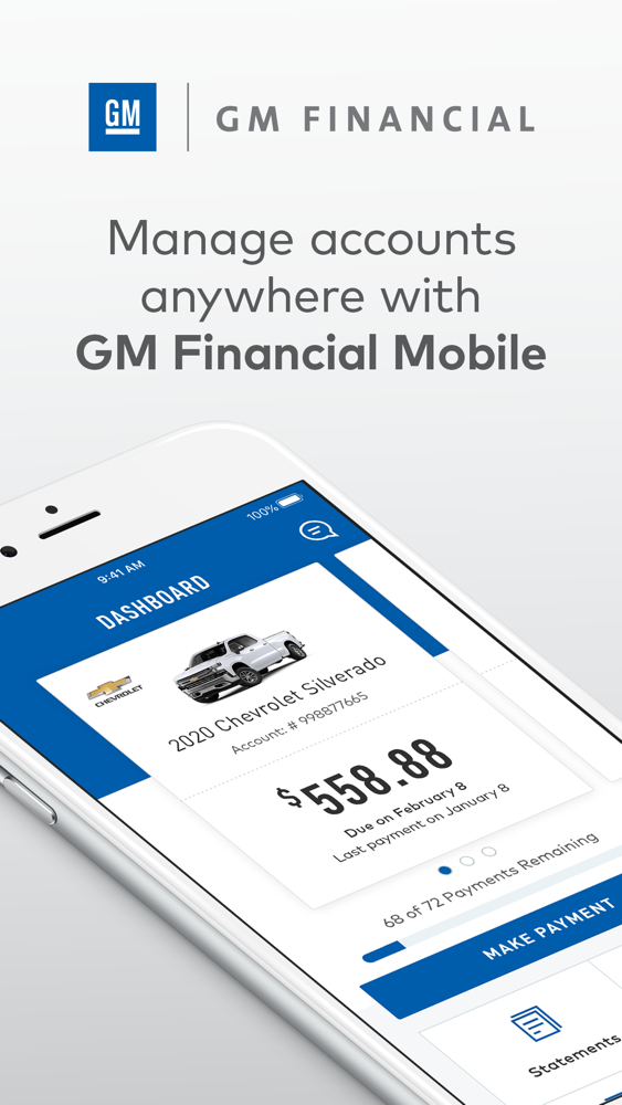 Gm Financial Phone >> Gm Financial App For Iphone Free Download Gm Financial For