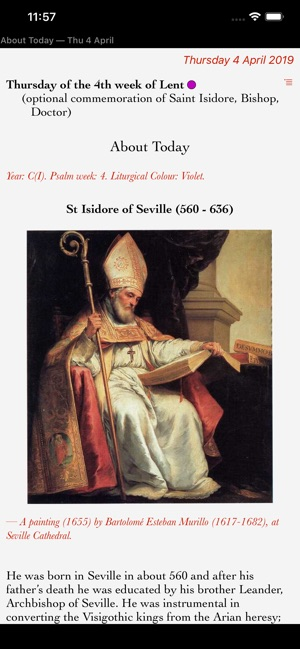 Catholic Calendar on the App Store