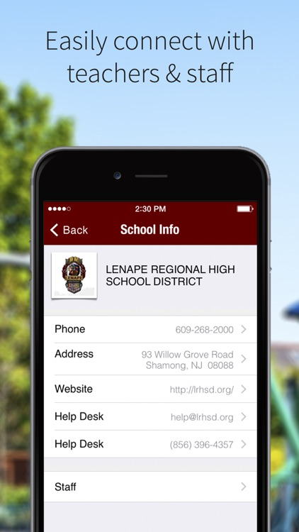 Lenape Regional HSD screenshot-1