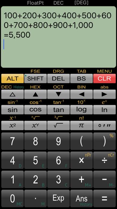 Panecal Scientific Calculator by Noriyasu Kutsuzawa (iOS