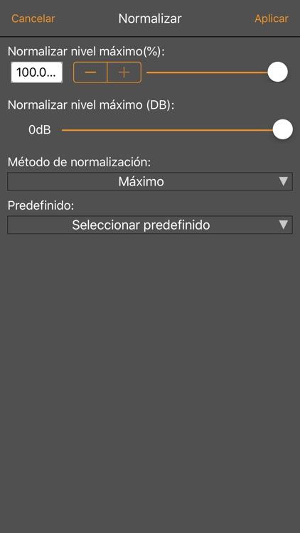 WavePad, editor de audio screenshot-5