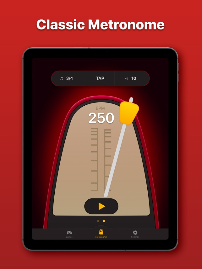 Metronome - BPM & Tap Tempo on the App Store