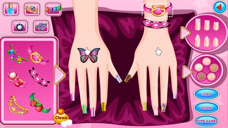 My Fashion Nail Salon Game screenshot-7