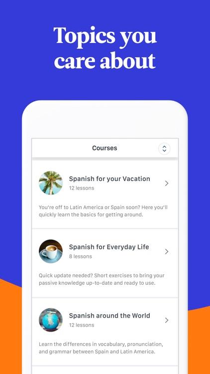 Babbel – Learn Languages screenshot-7