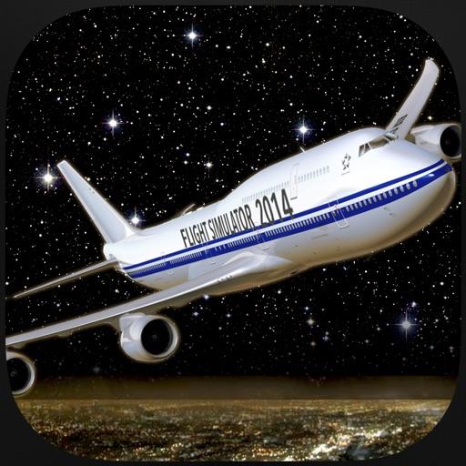 Flight Simuator New York FlyWings Night Fly 2015 Free