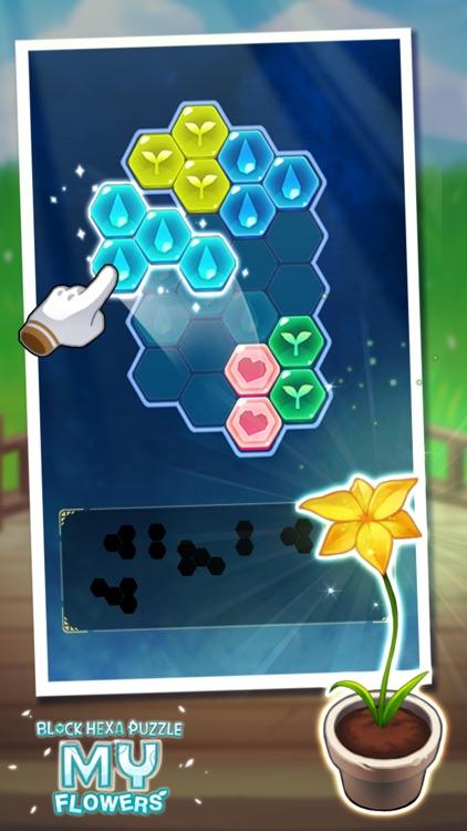 Block Hexa Puzzle : My Flower screenshot-7
