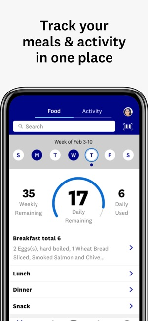 WW (Weight Watchers) on the App Store