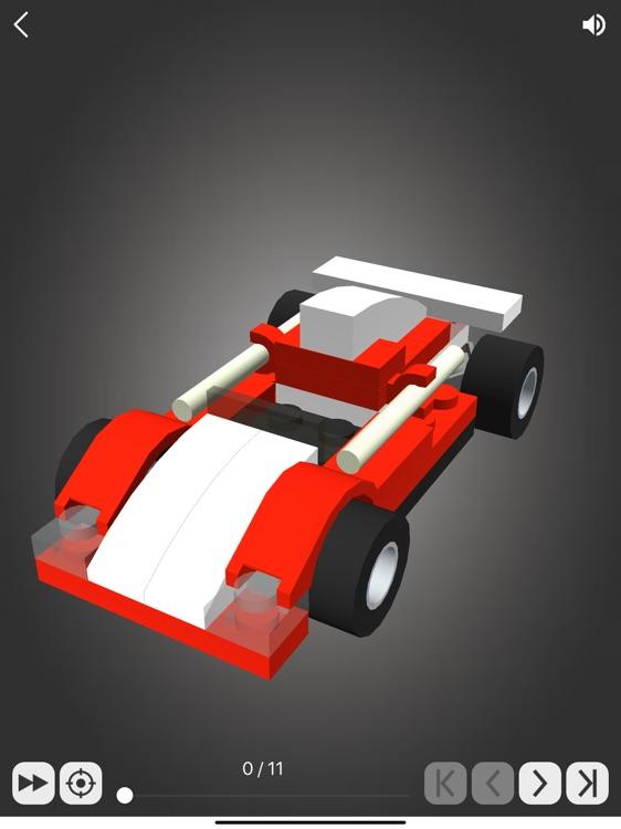 Brick Junior: Racing Cars