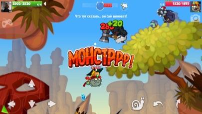 Скриншот №3 к Wormix Онлайн ШутерСтрелялки