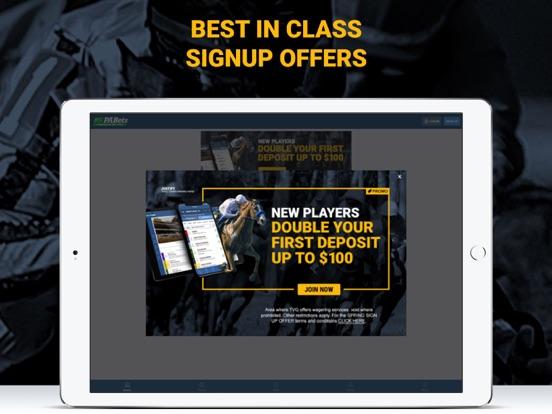 4NJBets - Horse Racing Betting screenshot