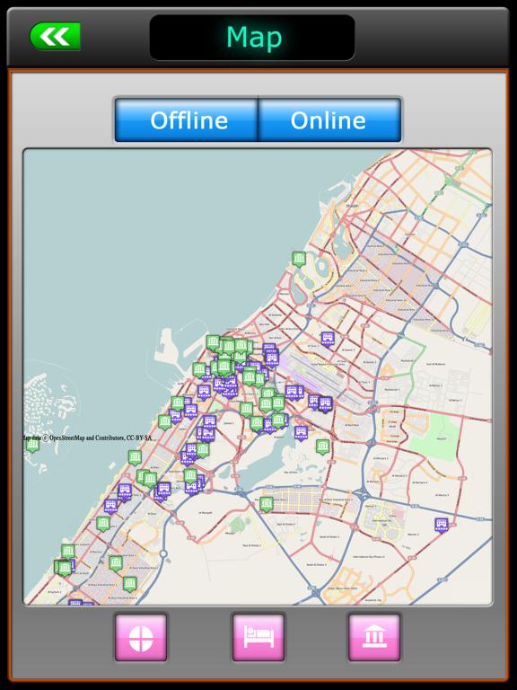 Dubai Offline Map Travel Guideのおすすめ画像4