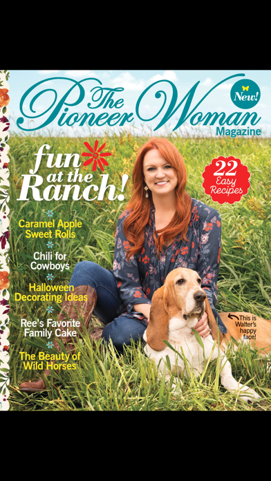 Screenshot for The Pioneer Woman Magazine US in United States App Store