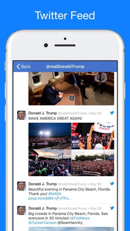 Trump Tracker: News & Politics screenshot-0