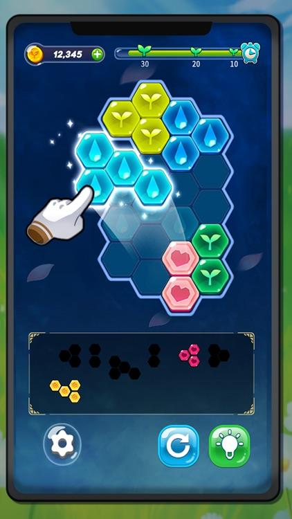 Block Hexa Puzzle : My Flower screenshot-3