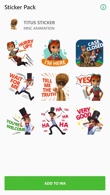 Titus Sticker for Messenger screenshot-3