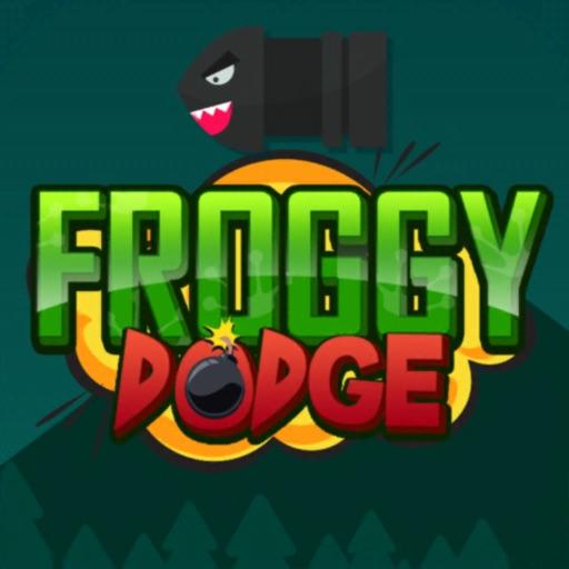 Froggy dodge: avoid the bombs!