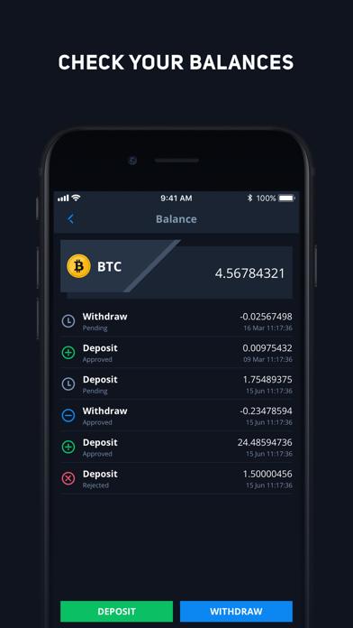 CEX.IO Криптовалютная биржаСкриншоты 3