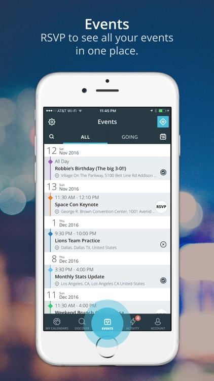 Allcal Event Calendar screenshot-3