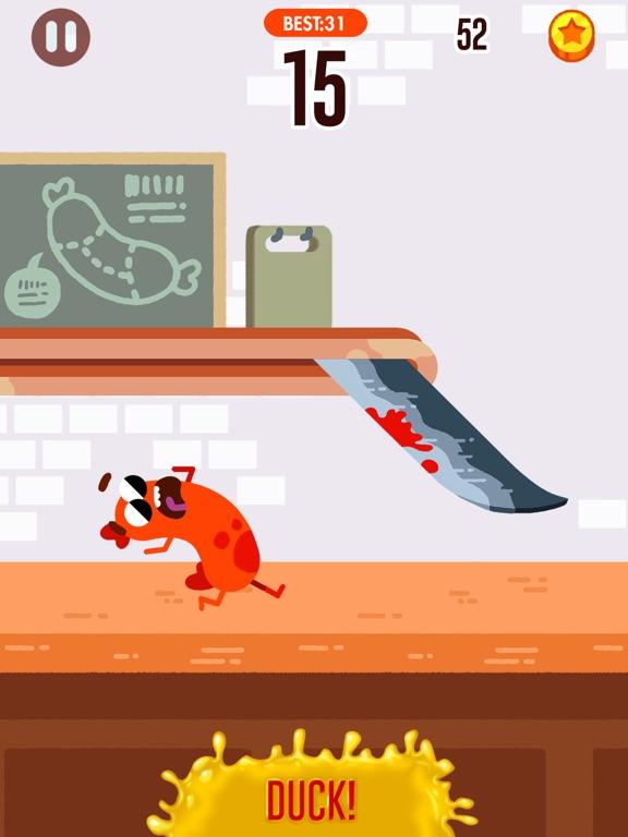 Run Sausage Run! iPad app afbeelding 1