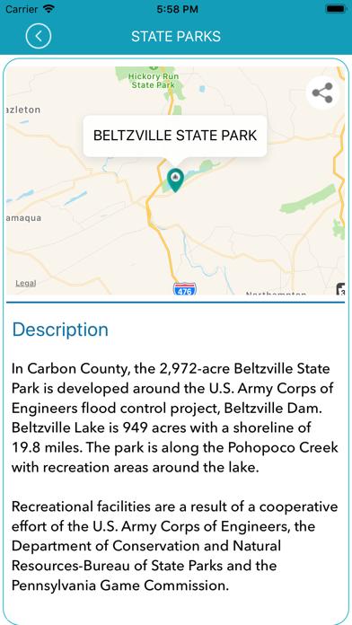 Screenshot #3 pour Pennsylvania State Park