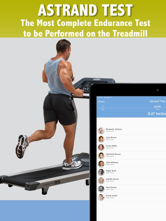 Astrand Treadmill Test screenshot 5