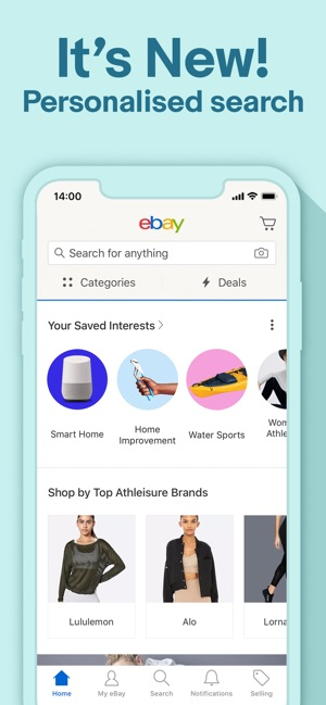 60ca14e1d The best deals   brands - eBay on the App Store