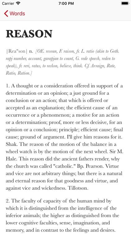 Webster's Writer's Dictionary screenshot-3